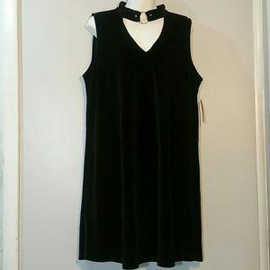 Xhilaration Sheath Dress Black Sz XL